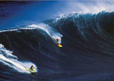 Chuck and Joe at Jaws Maui Hawaii