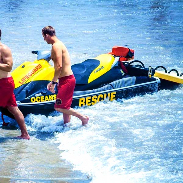 Fire Department PWC Water Rescue Sled