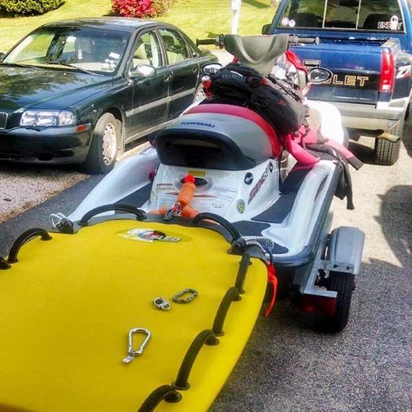 Jet Ski Rescue Sled