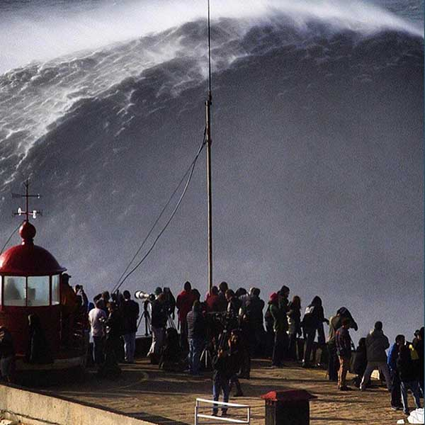 Nazare Big Wave Surfer