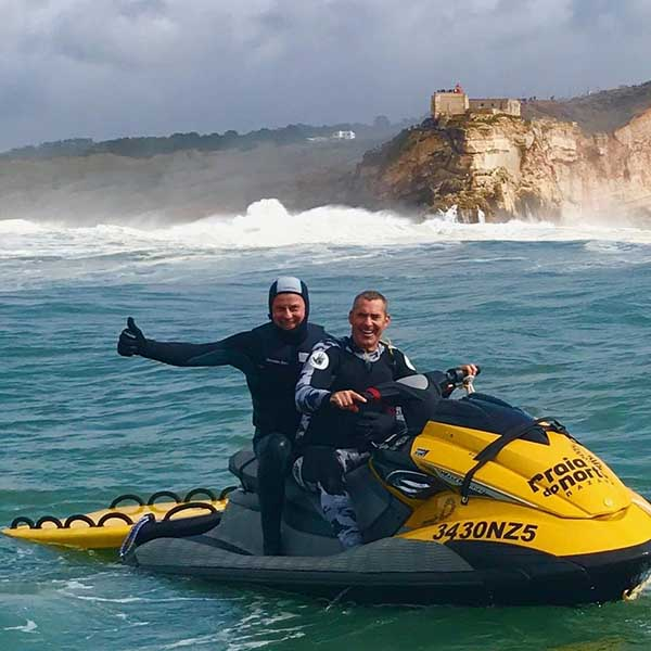 Nazare Praia Do Norte Rescue LifeSled