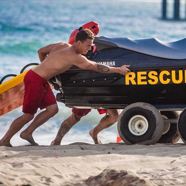 Ocean Rescue Sled