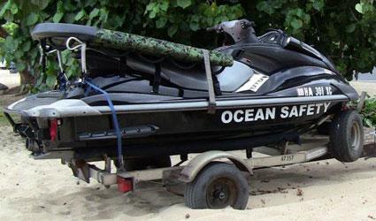 Ocean Safety Jet Ski