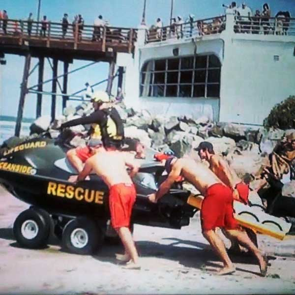 Oceanside Beach Rescue PWC LifeSled