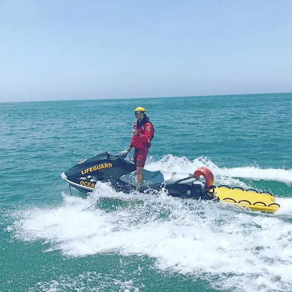 Oceanside Water Rescue LifeSled