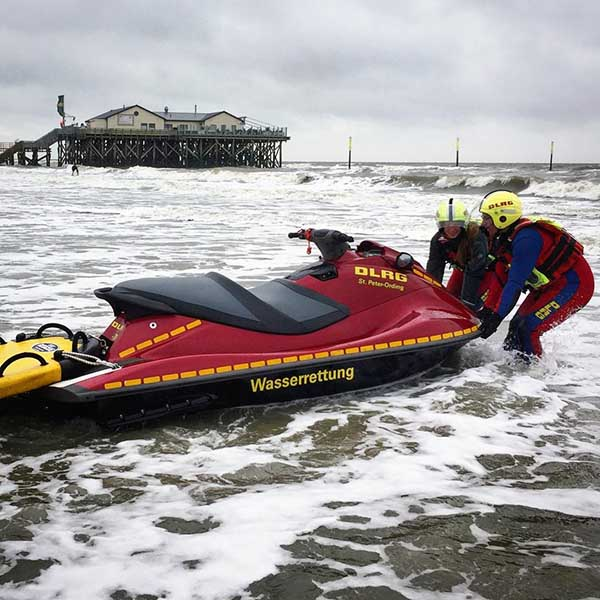 St Peter Ording DLRG Water Rescue Sled