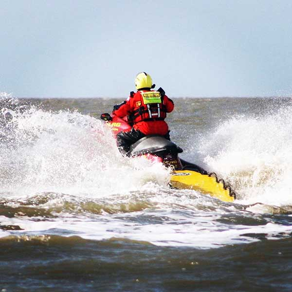 St Peter Ording Water Rescue Sled