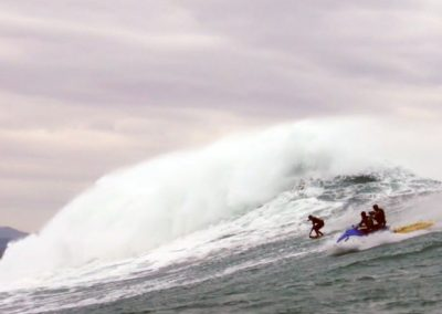 Tow In Surfing With LifeSled
