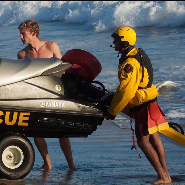 Yamaha Waverunner Rescue Sled
